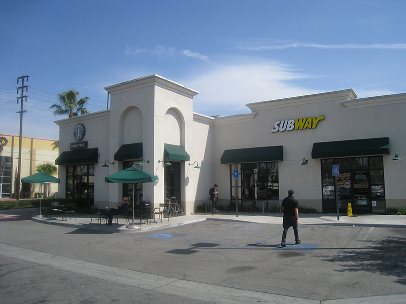 Starbucks & Subway, Huntington Park, CA