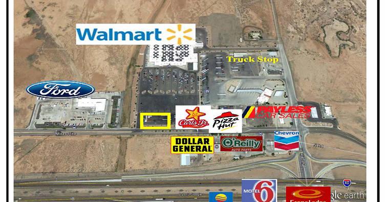 Wal-Mart Pad, Winslow, AZ