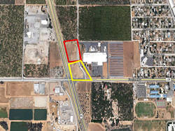 Two (2) 1.42 +/- Acre Commercial Development Site Fronting HWY 65 On/Off Ramp Location Strathmore, CA 93267